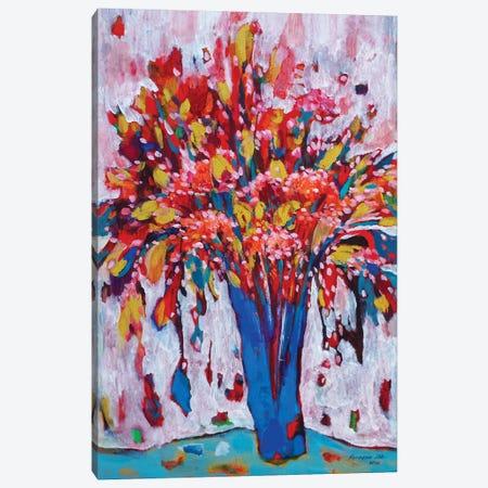 Spring Bouquet Canvas Print #KYG2} by Kyungsoo Lee Canvas Wall Art