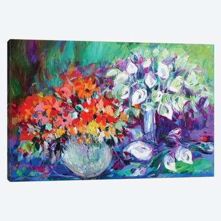 September Duet Canvas Print #KYG5} by Kyungsoo Lee Art Print