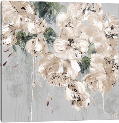 New Cascading Delight II Canvas Art Print