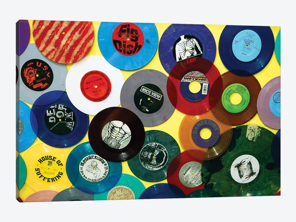 Vinyl 45's II, Amoeba Music Store, Hollywood, California, USA by Kymri Wilt 1-piece Canvas Art