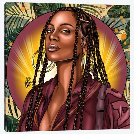 Beyoncé Canvas Print #KYN10} by Kaylin Taraska Canvas Art