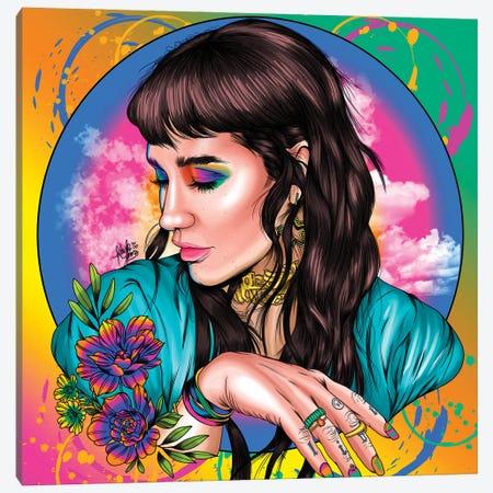 Ke$Ha Canvas Print #KYN2} by Kaylin Taraska Canvas Print