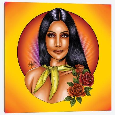 Cher Canvas Print #KYN6} by Kaylin Taraska Canvas Artwork
