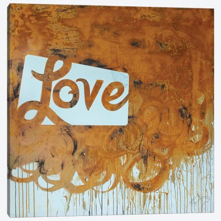 Rusty Love Canvas Print #KYO110} by Kent Youngstrom Canvas Art Print