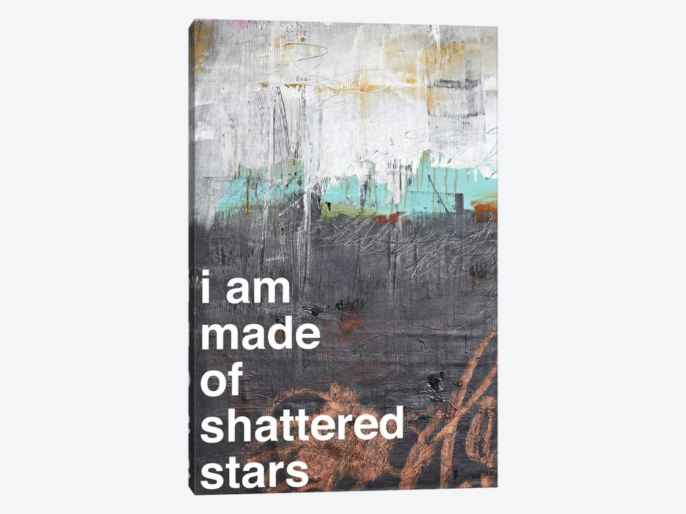 Shattered Stars I 1-piece Canvas Art