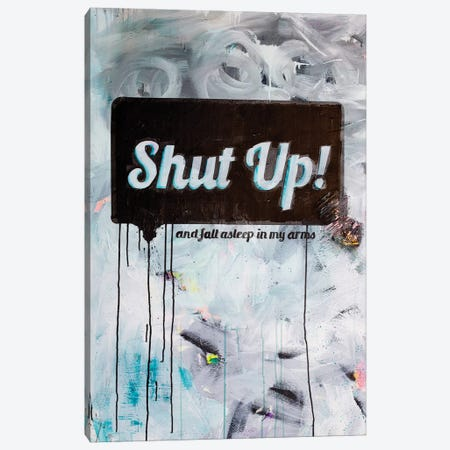 Shut-up Canvas Print #KYO117} by Kent Youngstrom Canvas Art