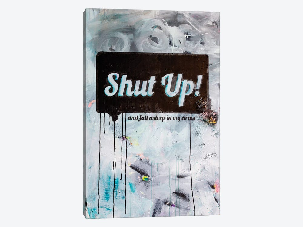 Shut-up by Kent Youngstrom 1-piece Canvas Wall Art