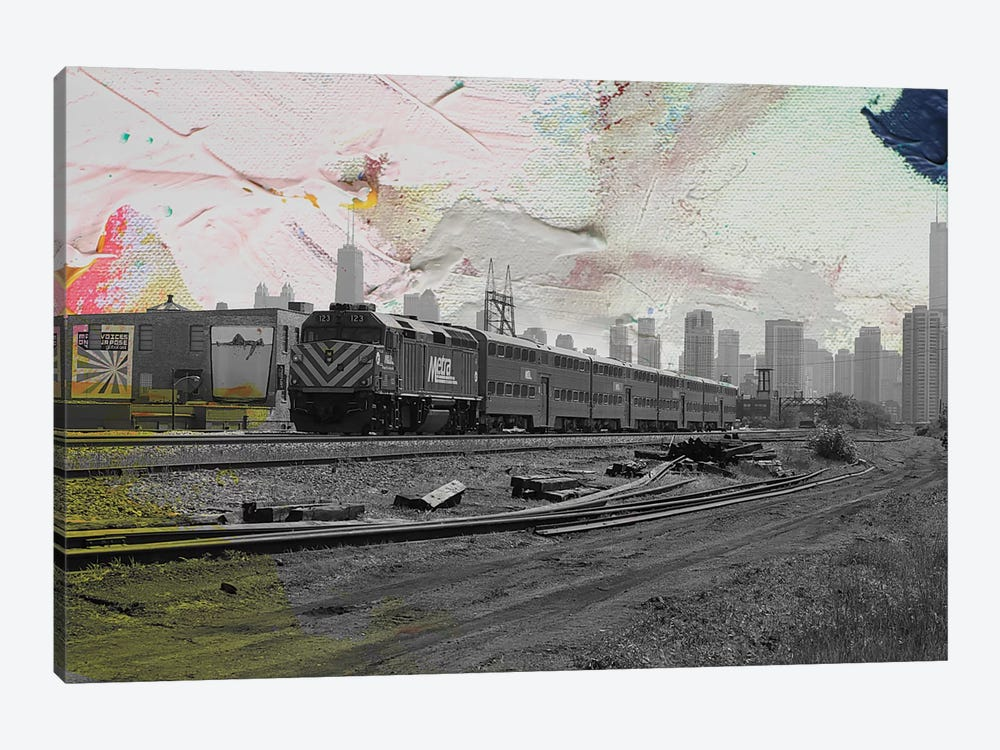 Train Home by Kent Youngstrom 1-piece Canvas Artwork