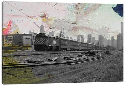 Train Home Canvas Art Print