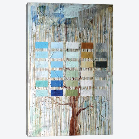 Tree Blocks Canvas Print #KYO141} by Kent Youngstrom Canvas Artwork