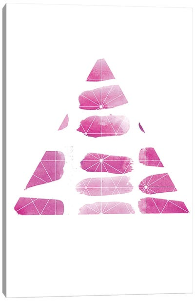 Triangle Canvas Print #KYO142