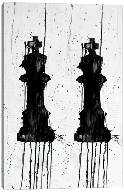 Two Kings Canvas Art Print