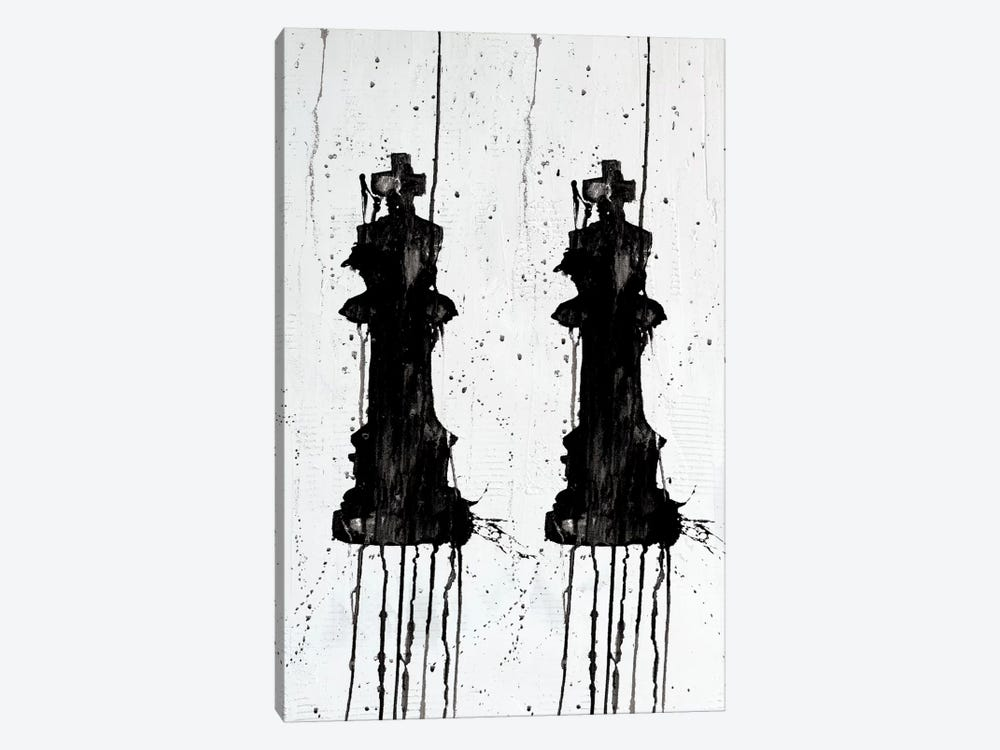Two Kings 1-piece Canvas Print
