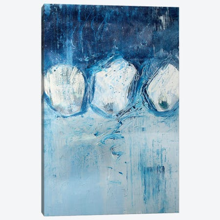 White Circles Canvas Print #KYO150} by Kent Youngstrom Art Print