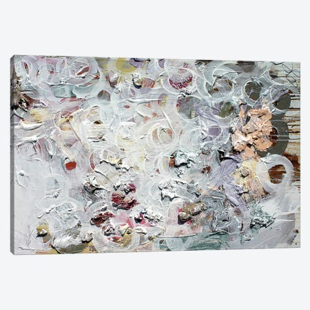 White Dry Circles Canvas Print #KYO151} by Kent Youngstrom Art Print