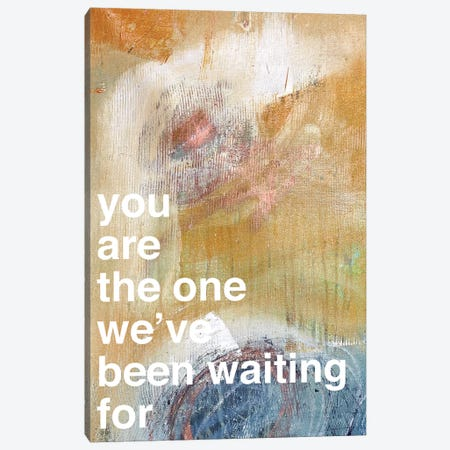 You Are The One I Canvas Print #KYO154} by Kent Youngstrom Canvas Artwork
