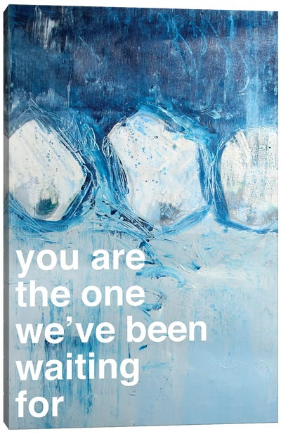 You Are The One II Canvas Art Print