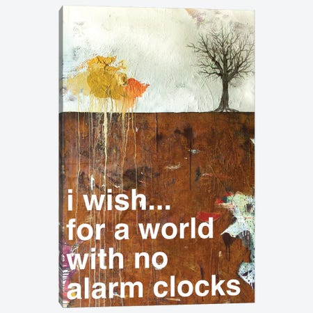 No Alarm Clocks I Canvas Print #KYO161} by Kent Youngstrom Canvas Artwork