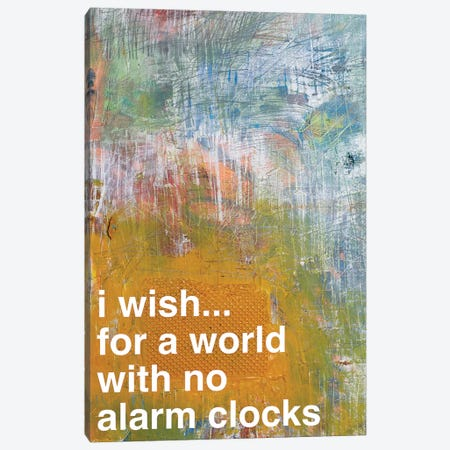No Alarm Clocks II Canvas Print #KYO162} by Kent Youngstrom Canvas Artwork