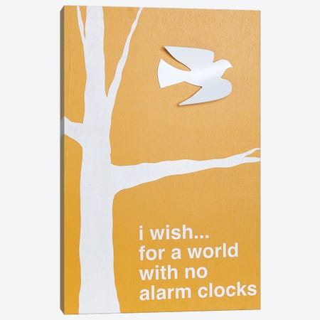 No Alarm Clocks III Canvas Print #KYO163} by Kent Youngstrom Canvas Artwork