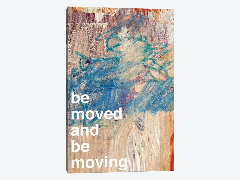 Be Moved I 1-piece Canvas Art