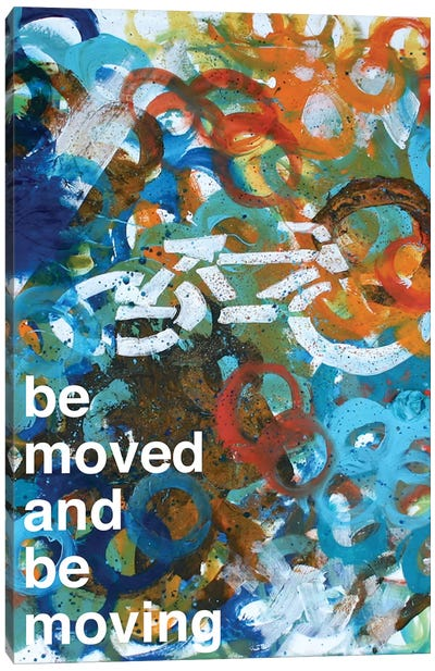 Be Moved II Canvas Art Print