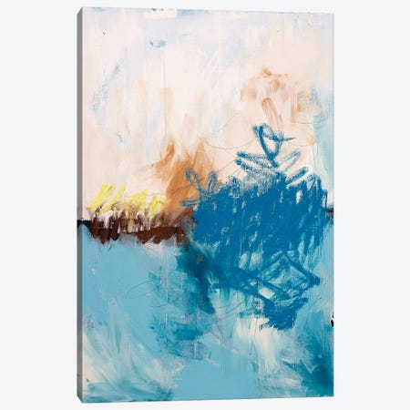 Blue Water Canvas Print #KYO171} by Kent Youngstrom Canvas Art Print