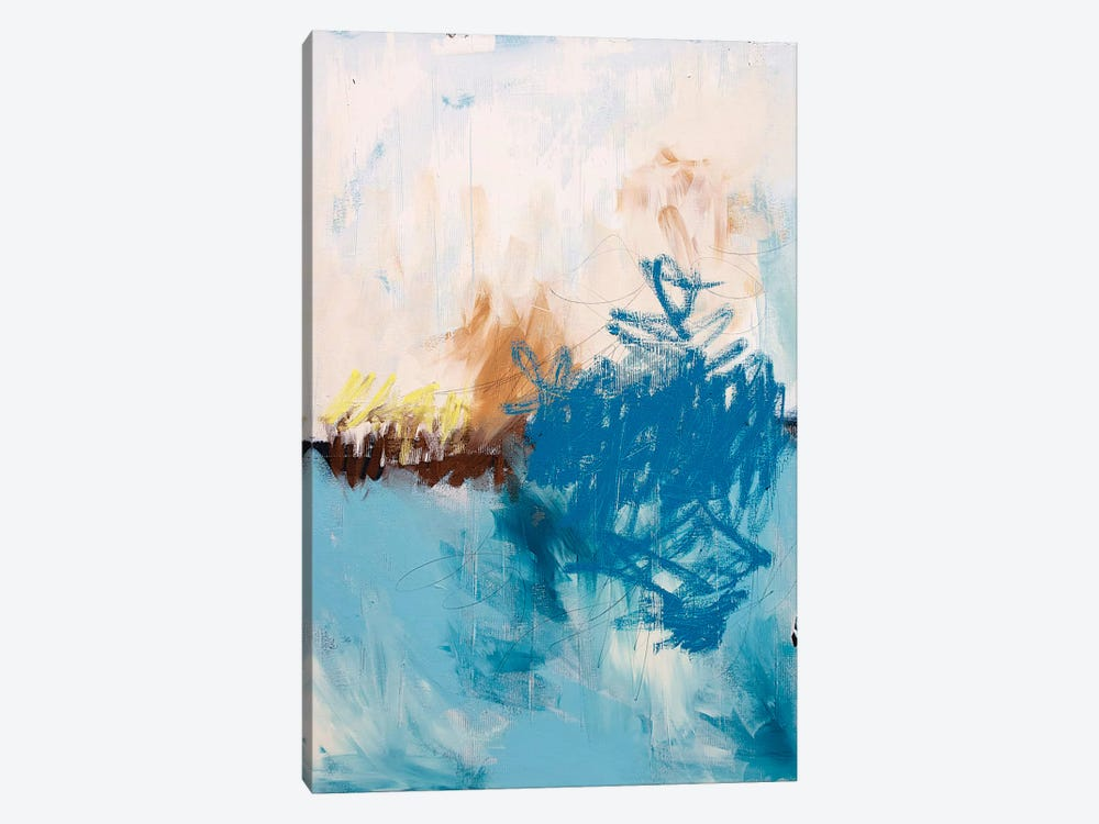 Blue Water by Kent Youngstrom 1-piece Canvas Art