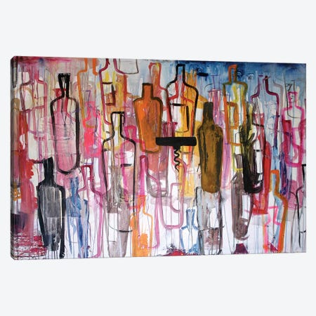 Bottles Canvas Print #KYO173} by Kent Youngstrom Canvas Art Print