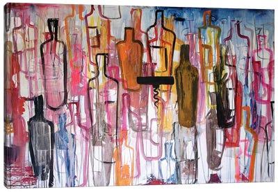 Bottles Canvas Art Print
