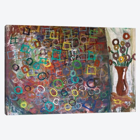 Circles And Squares Canvas Print #KYO177} by Kent Youngstrom Canvas Wall Art