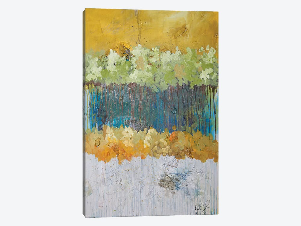Dimensional Trees I by Kent Youngstrom 1-piece Canvas Art