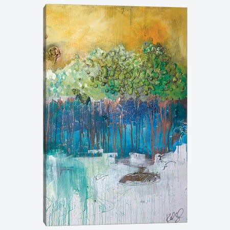 Dimensional Trees II Canvas Print #KYO180} by Kent Youngstrom Canvas Wall Art