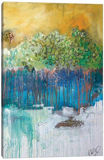 Dimensional Trees II Canvas Print #KYO180