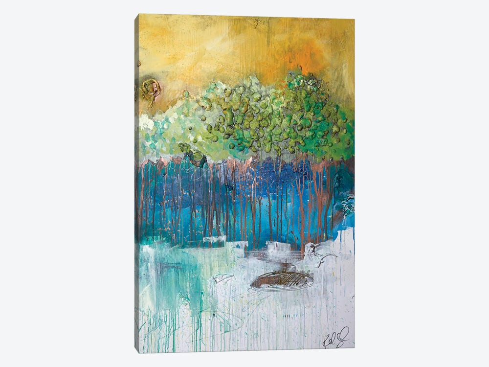 Dimensional Trees II by Kent Youngstrom 1-piece Canvas Wall Art
