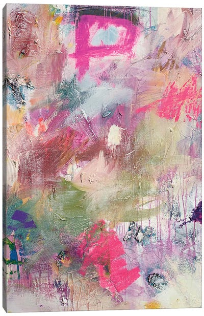 Field Of Colorful Canvas Print #KYO189