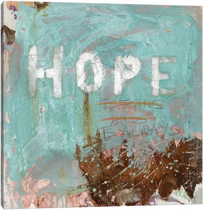 Hope Canvas Print #KYO198