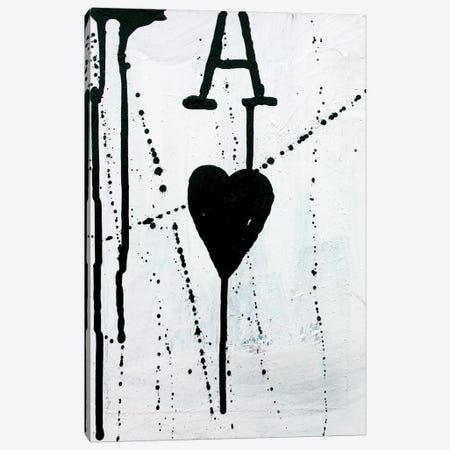 Ace Of Hearts Canvas Print #KYO1} by Kent Youngstrom Canvas Artwork