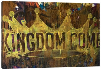 Kingdom Crown Canvas Print #KYO205
