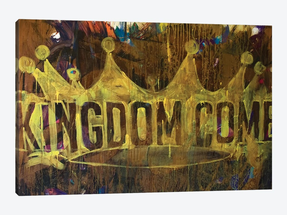 Kingdom Crown by Kent Youngstrom 1-piece Canvas Print