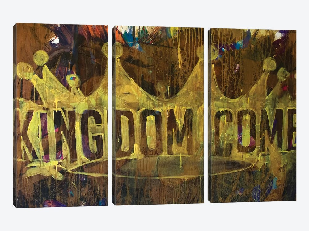 Kingdom Crown by Kent Youngstrom 3-piece Canvas Art Print