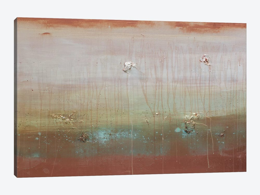 Copper Waves Cresting by Kent Youngstrom 1-piece Canvas Art