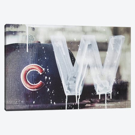 Cubs Win Canvas Print #KYO20} by Kent Youngstrom Canvas Artwork