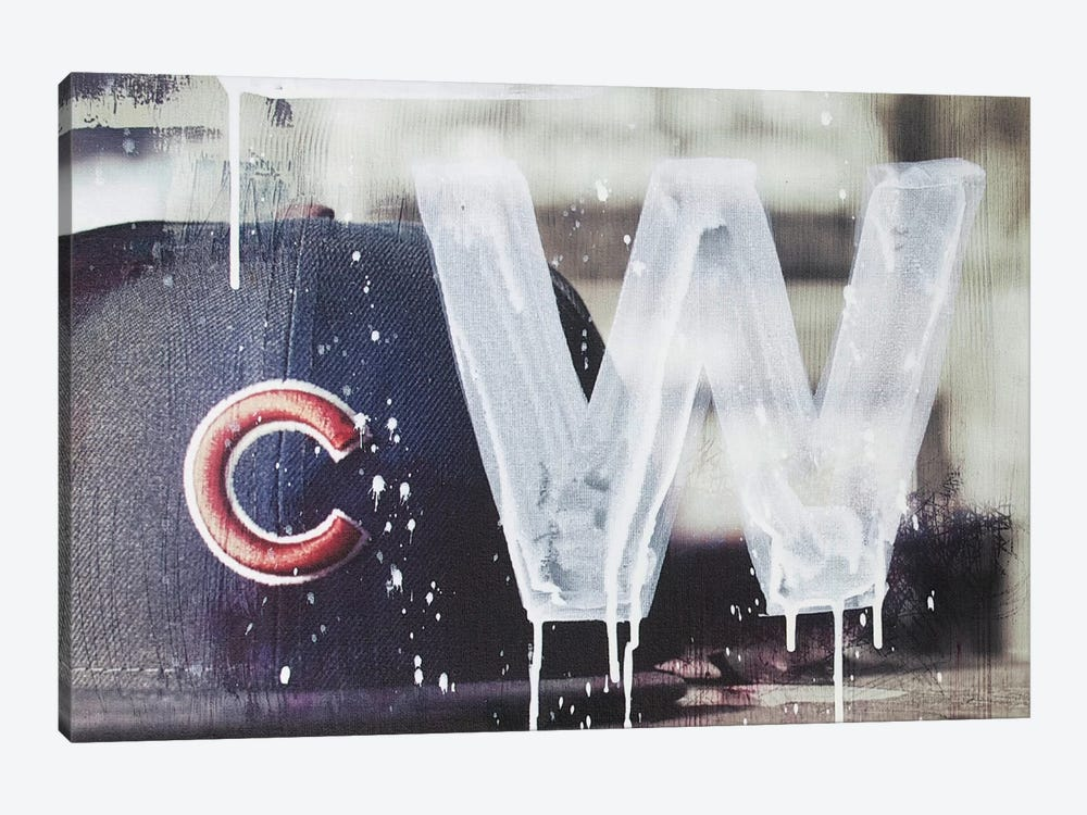 Cubs Win by Kent Youngstrom 1-piece Art Print