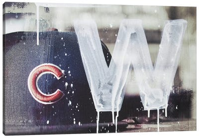 Cubs Win Canvas Art Print