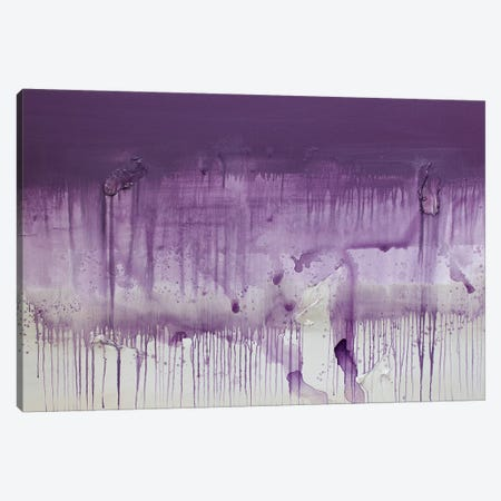 Purple Sunset Canvas Print #KYO212} by Kent Youngstrom Canvas Wall Art