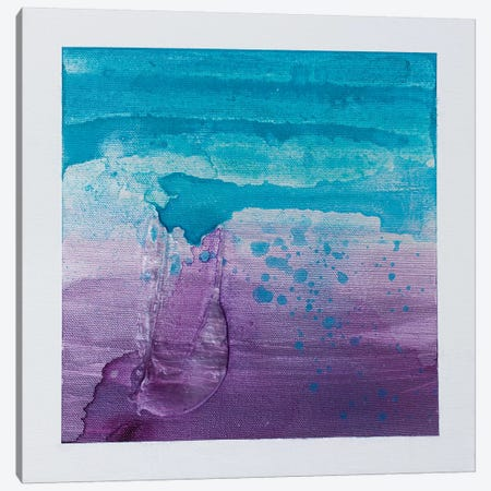 Purple Sunset III Canvas Print #KYO225} by Kent Youngstrom Canvas Wall Art
