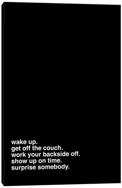 Wake Up Canvas Art Print
