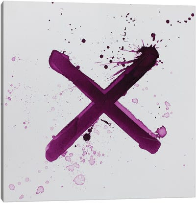 X's And O's I Canvas Art Print