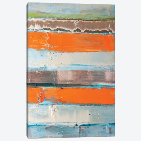 Orange Is The New Stripe's Cellmate Canvas Print #KYO247} by Kent Youngstrom Canvas Artwork